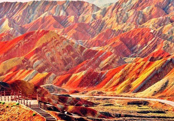 张掖地质公园晋级世界地质公园